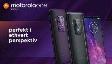 Motorola One Zoom med quad-kamera lanceret