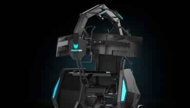 Acer lancerer vanvittig gaming-stol: Predator Thronos Air
