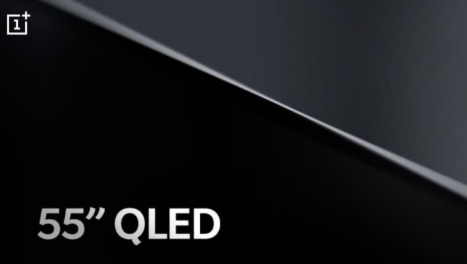 OnePlus TV får 55 tommer QLED-panel