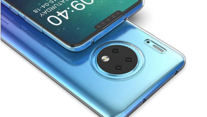 Huawei Mate 30 Pro får 4500 mAh batteri