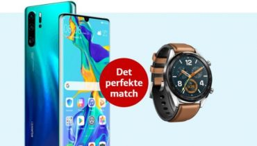 Mobildeal: Huawei P30 Pro med Watch GT smartur