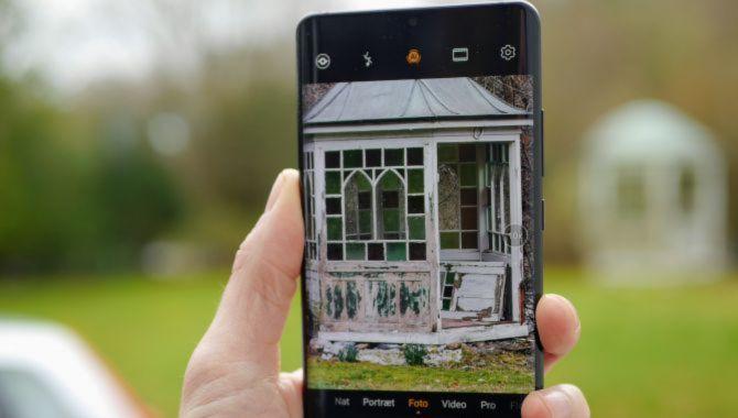 Huawei P30 Pro får nu natfunktion i frontkameraet