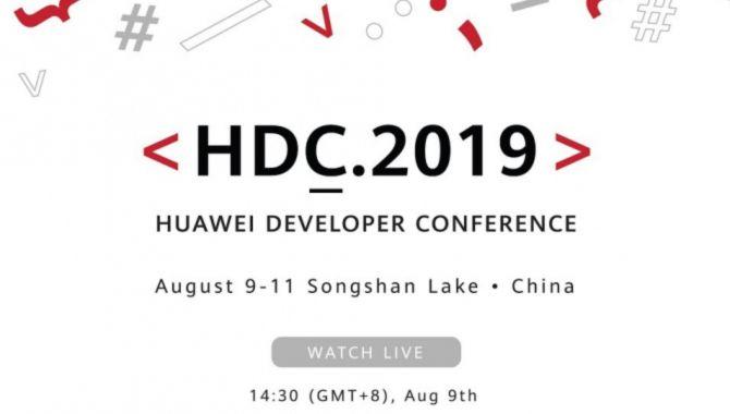 I dag viser Huawei EMUI 10 og HongMeng OS frem