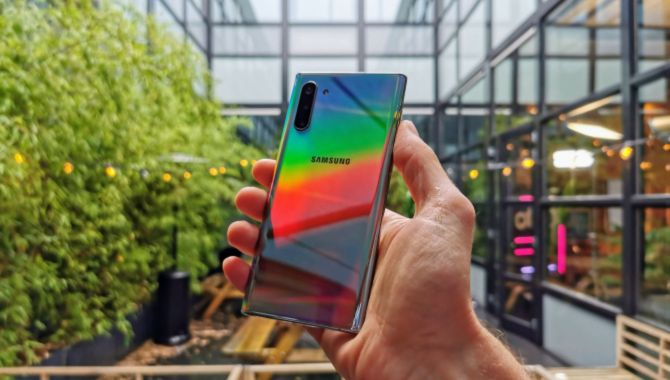 Stort galleri: Se Samsung Galaxy Note10 her