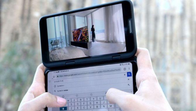LG vil fremvise telefon med to skærme til IFA