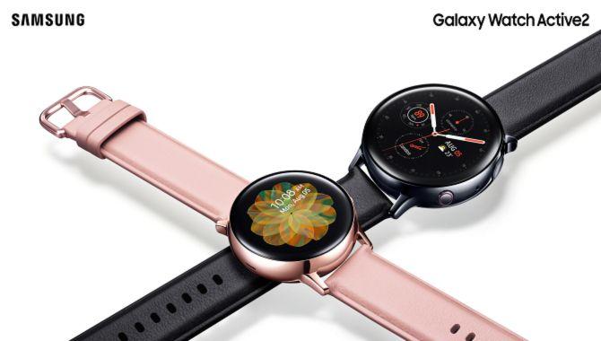Samsung introducerer Galaxy Watch Active2