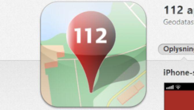 Ny teknologi skal erstatte 112-app