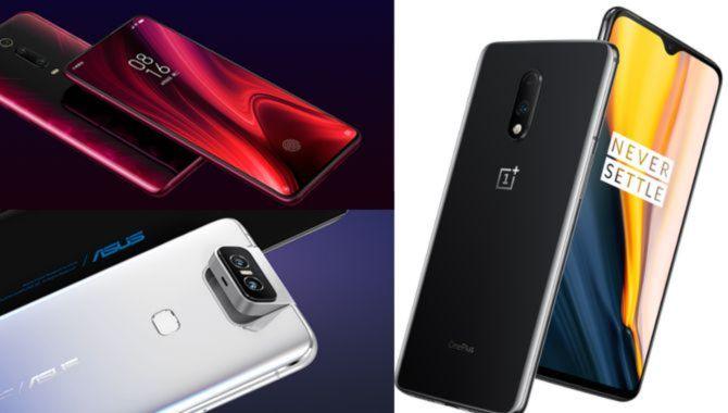Afstemning: ASUS Zenfone 6, OnePlus 7 eller Xiaomi Redmi K20 Pro
