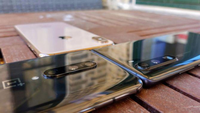 Kameraet i OnePlus 7 Pro mod Huawei P30 Pro og iPhone XS Max
