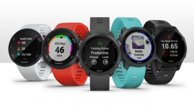 Garmin klar med fem nye Forerunner smartwatches