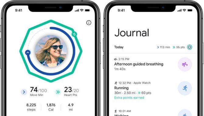 Google Fit klar til iPhones og Apple Watch