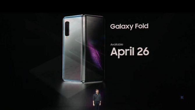 Samsung Galaxy Fold er blevet udskudt