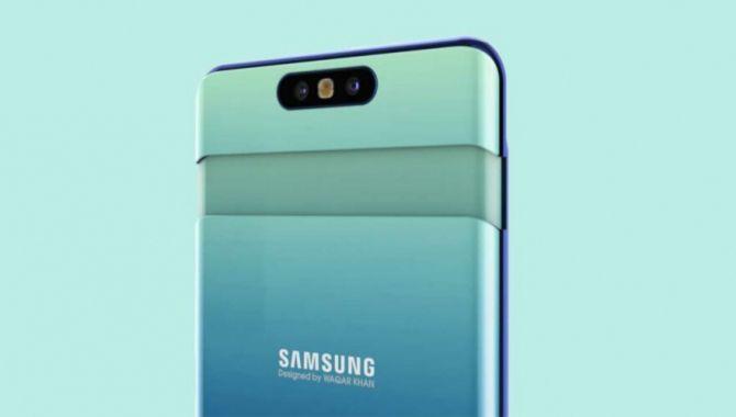 Samsung Galaxy A80 med pop-up kamera lækket