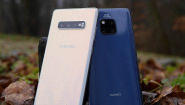 Duel: Samsung Galaxy S10+ mod Huawei Mate 20 Pro