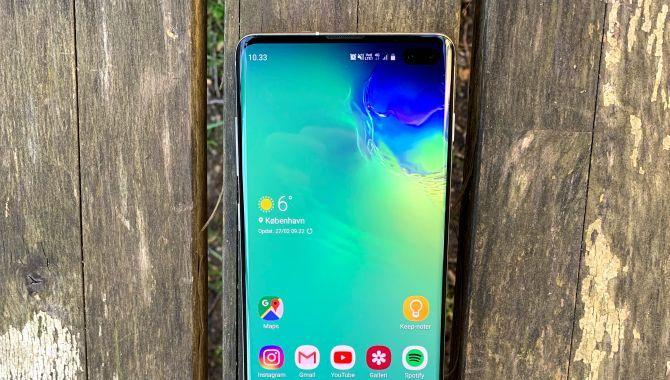 DisplayMate: Samsung Galaxy S10 har den bedste skærm