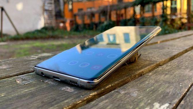 Samsung Galaxy S10 kommer med skærmbeskyttelse