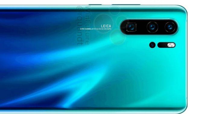 Billeder af Huawei P30 Pro og P30 sluppet ud