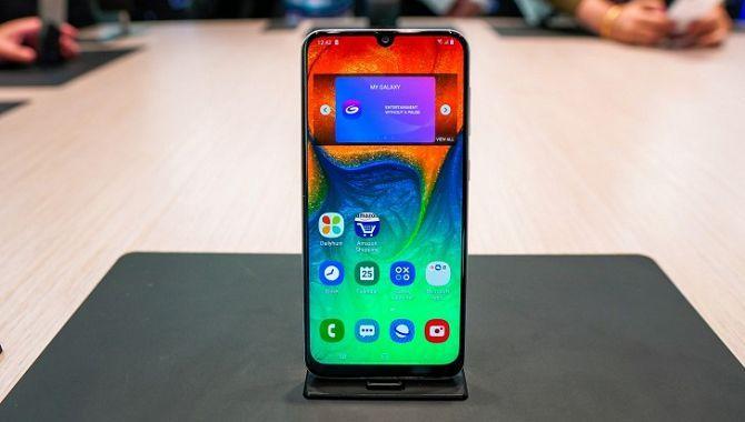 Samsung lancerer en ny mellemklassetelefon, Galaxy A50