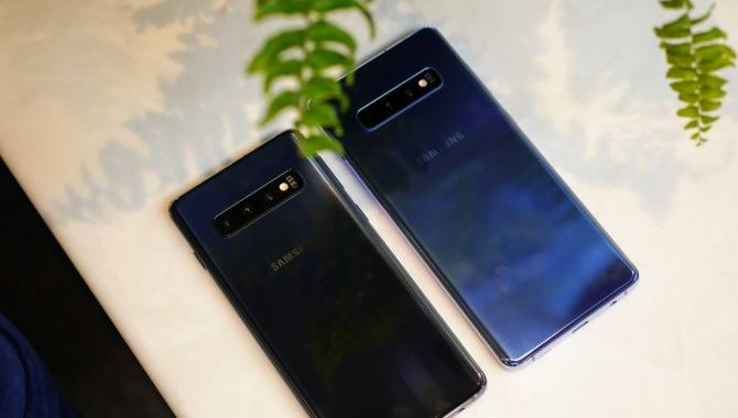 Samsung Galaxy S10 er officiel: Her er den