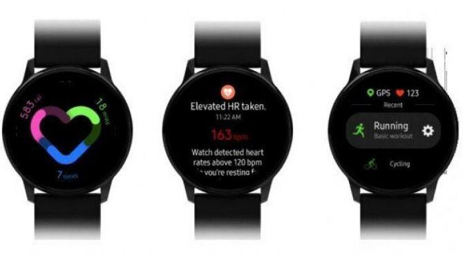 Samsungs kommende Galaxy Watch Active får One UI