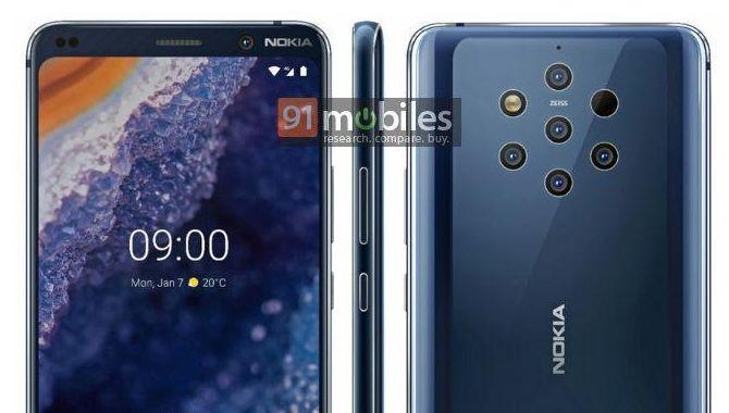Pressebillede lækket: Sådan ser Nokia 9 ud
