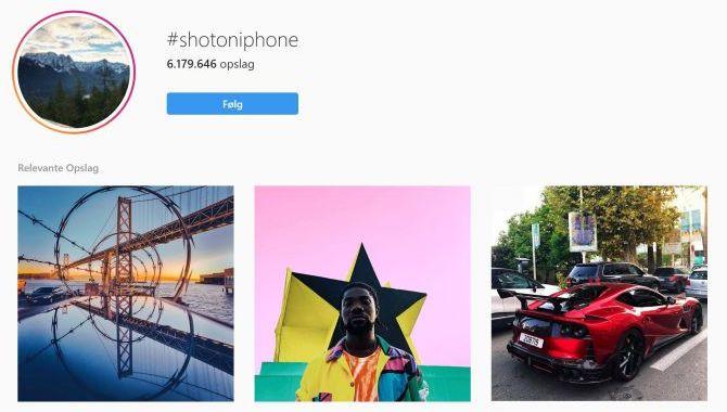 Apple inviterer til #ShotOniPhone challenge