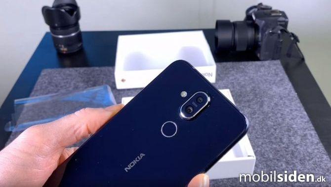 Video: Første kig på Nokia 8.1