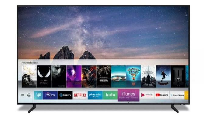 Apple iTunes kommer til Samsungs smart TV