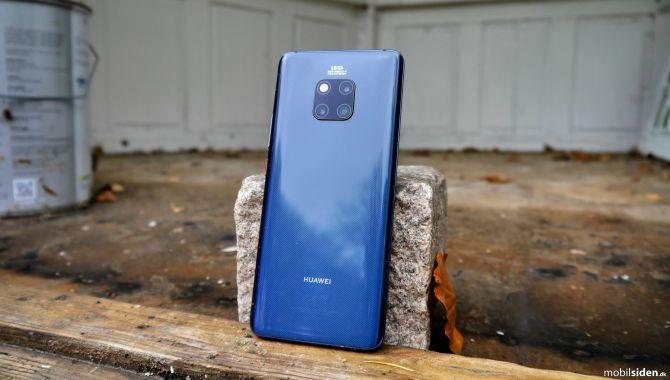 Huawei forbedrer kamera og Face Unlock på Mate 20 Pro