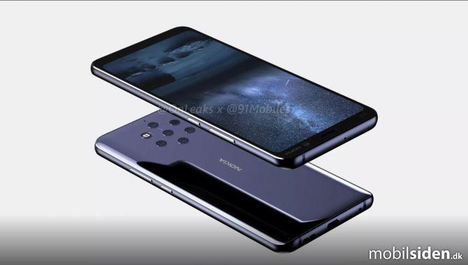 Nokia 9 Pureview præsenteres i januar