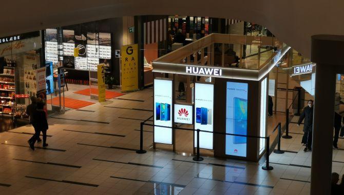 Huawei åbner showroom i Field's