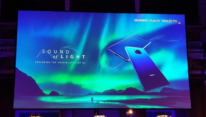Sound of Light: Huawei oversætter nordlys til lyd