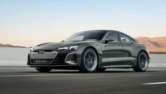 Audi lancerer den vilde E-Tron GT koncept elbil
