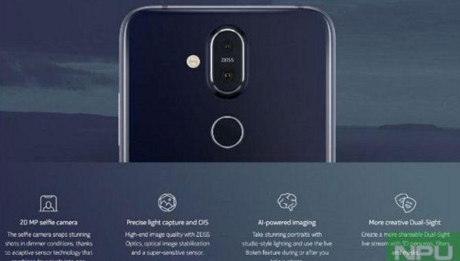 Nokia 8.1 lækket med billeder og specifikationer