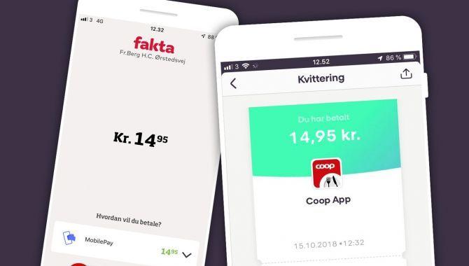 Endelig: Nu kan du betale med MobilePay i COOP