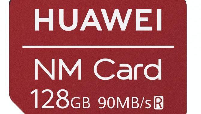 Huawei lancerer ny hukommelseskort standard