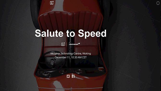 OnePlus og McLaren samarbejder om en limited edition 6T