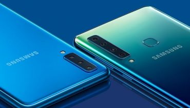 Samsungs Galaxy A9 med fire bagkameraer kan nu købes