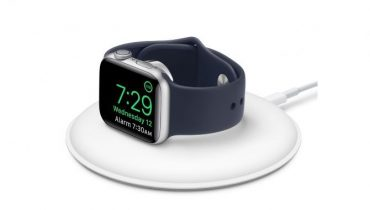 Apple har lanceret en ny magnetisk opladerdock til Apple Watch