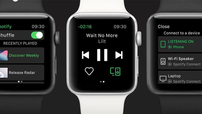 Spotify endelig klar til Apple Watch