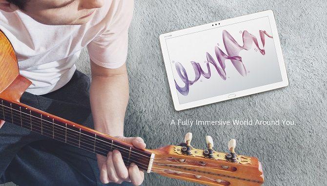 Huawei lancerer MediaPad M5 lite
