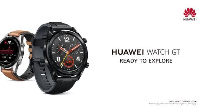 Huawei lancerer nye wearables: Huawei Watch GT og Band Pro 3