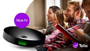 Telia lancerer ny TV-boks