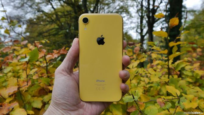 Test: Apple iPhone XR – Går ikke på kompromis