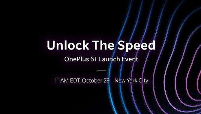 Sådan følger du med i OnePlus 6T event i dag