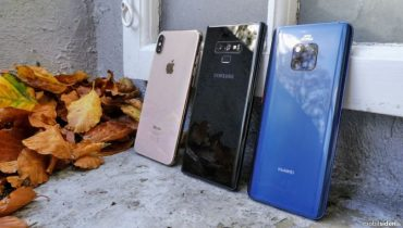 Duel: Huawei Mate 20 Pro, Galaxy Note9 og iPhone XS Max