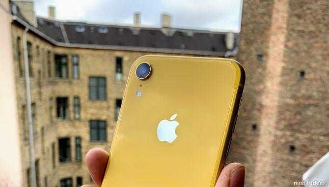 Apple iPhone XR er nu i butikkerne