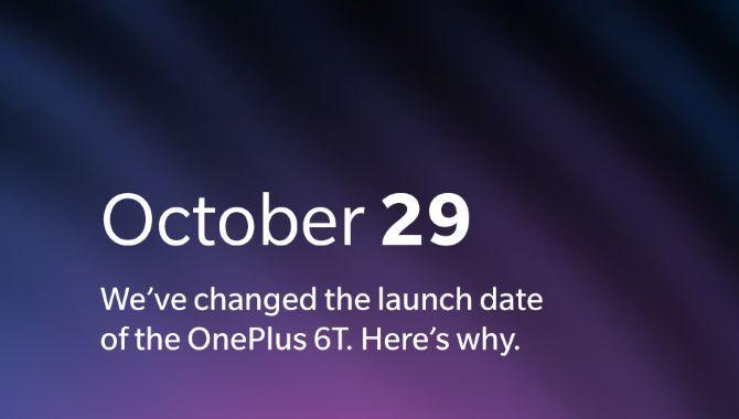OnePlus rykker OnePlus 6T-event til den 29. oktober