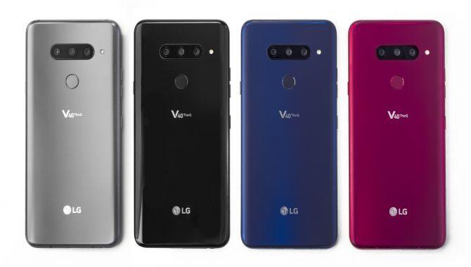 LG lancerer LG V40 ThinQ med tredobbelt kamera