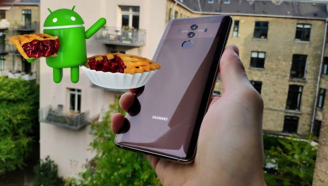 Huawei Mate 10 Pro får nu Android 9 Pie